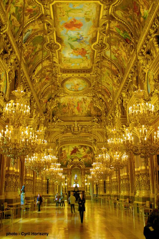 Grand Foyer Paris : Paris opera house tour