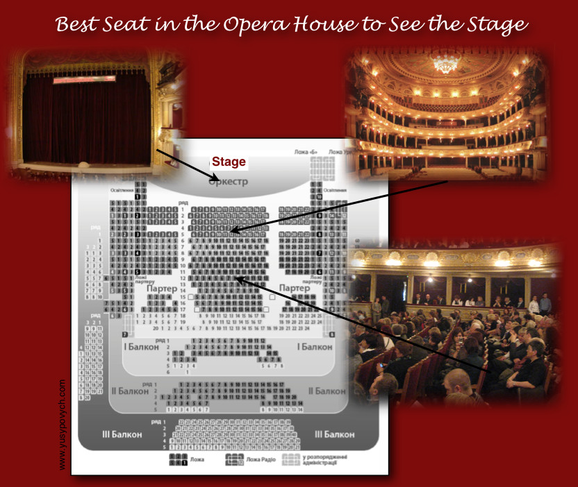 Opera House Seating Chart
