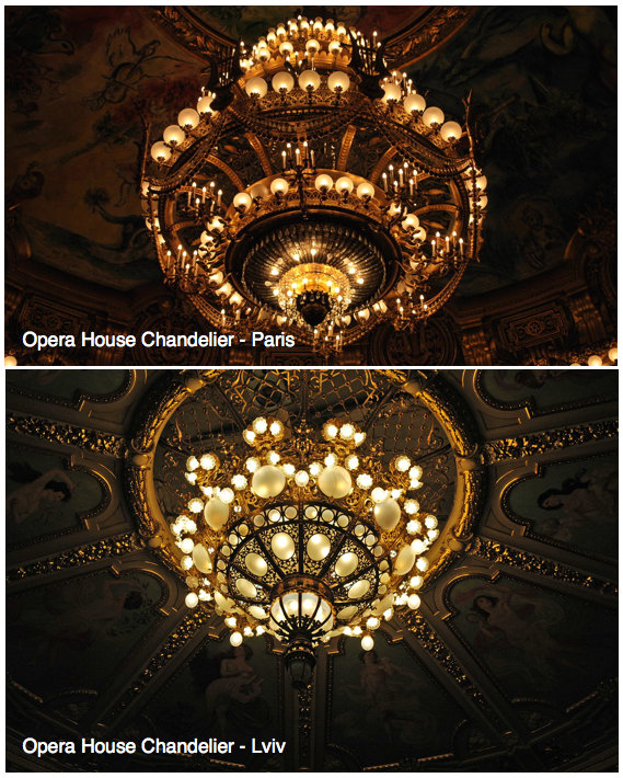 The opera paris the chandelier opera paris and opera lviv aloadofball Images
