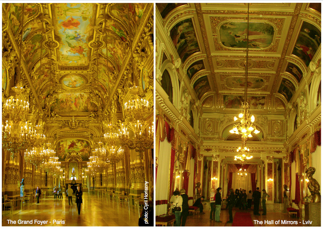 The Grand Foyer – Opera Paris and Opera Lviv