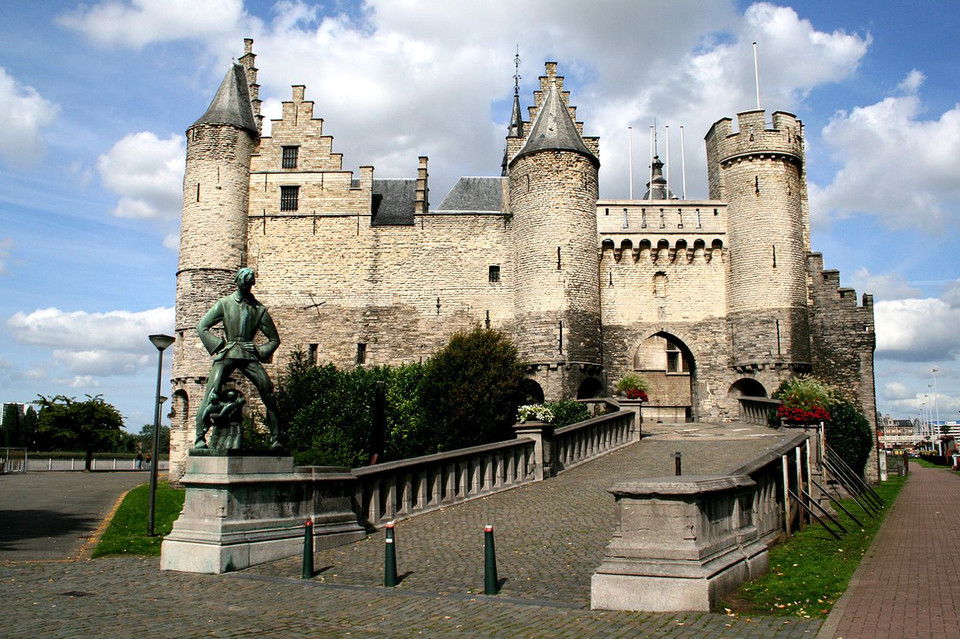Antwerp Castle Today (source: Wikipedia)