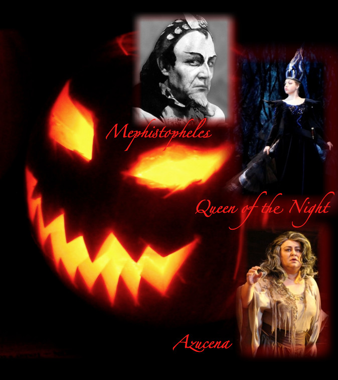 Best Halloween Songs in Opera