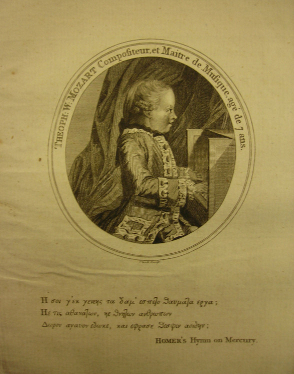 Young Mozart Biography by D.Barrington