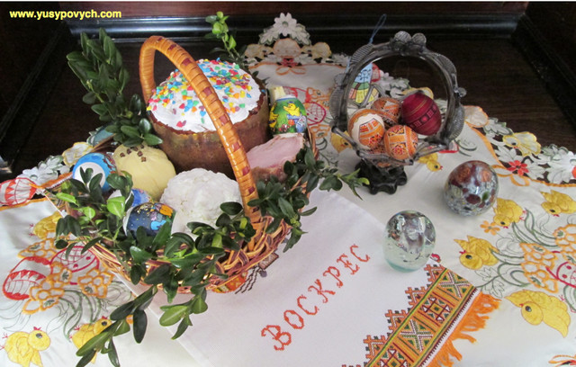 How We Celebrate Easter in Ukraine