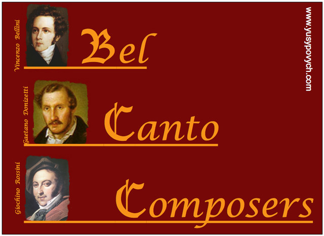 Famous Bel Canto Composers