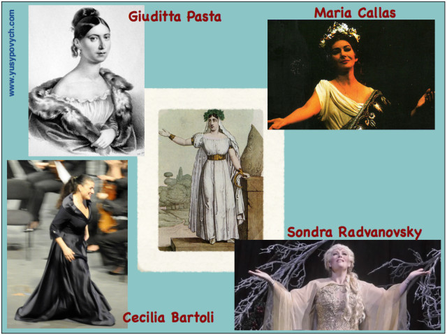 Famous Opera Singers in Norma