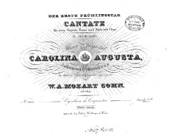 Cantata for Orchestra and Voice